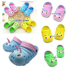 Baby Boy Girl Kids Insect Shoes Slip On Beach Sandals Summer Casual Flat Slipper