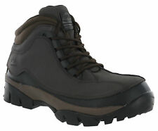 Mens Groundwork Brown Safety Boots Steel Toe Cap Work Industrial Lace Up Ankle