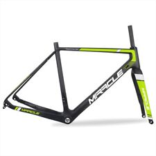 49/52/54/56/58cm UD Matte Carbon Cyclocross Bike CX Bicycle Frame&Fork&Headset