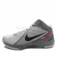 Nike The Air Overplay IX [831572-006] Basketball Wolf Grey/Black-Red