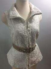 NWT WHITE HOUSE BLACK MARKET Embroidered Quilted Vest Sz: S, M
