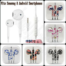 3.5mm Earbuds Headset Earphones For iPhone iPod Android Samsung LG Sony HTC