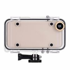 Extreme Sports Waterproof Case Cover with 170° Wide Angle Lens for iPhone 6 6S