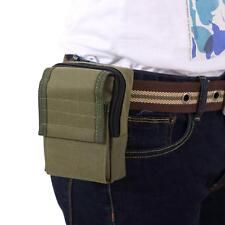 Military Hook Loop Zippered Bag Durable Outdoor Investigate Tool Pouch Small Bag