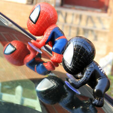 1PCS Auto Part Spider-man Doll Lovely Sucker Super hero Car Accessories