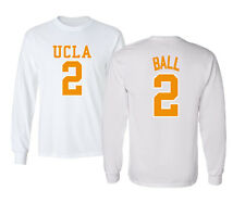 Lonzo Ball #2 UCLA 2017 UCLA Bruins College Basketball Mens & Youth Long T-Shirt
