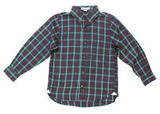 NWT Kitestrings by Hartstrings Button Down Holiday Plaid Shirt ~Size 3T 4 5 6 7
