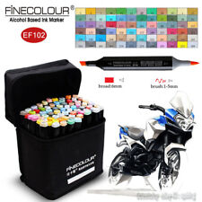 FINECOLOUR Brush Sketch Marker Pen Industrial Design 36/48/60/72 Colors Set