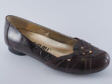 Tatami Ivana Birkenstock Colour Court Shoes 36 37 Patent Leather Brown