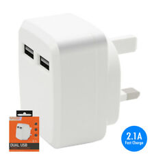 2.1A Fast Charge USB Mains Charger Adapter for LG KU2100