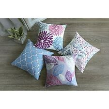Decorative Throw Pillows Set Of 4 Cushion Cover Pillow Case Bed Couch Home Decor