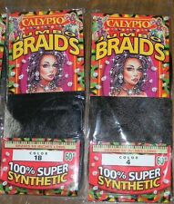 ONE Calypso Jumbo Braids 100%Synthetic Straight 60 Inch Hair Extensions