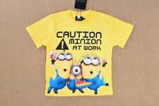 Despicable Me Minions Boy Toddler T-shirt Tee Top Shirt SUMMER KID OUTFIT
