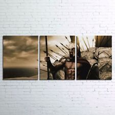 3 Pieces 300 Rise Of An Empire Movie Painting Printed Canvas Wall Art Home Decor
