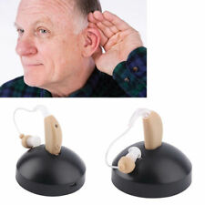 Digital Hearing Aid Aids Kit Behind the Ear BTE Sound Voice Amplifier Audiphone