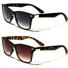 NEW SUNGLASSES DESIGNER LARGE MENS LADIES WOMENS BLACK RETRO VINTAGE SMALL UV400