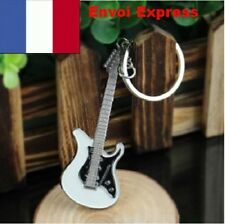 KEYRING GUITAR ELECTRIC MUSIC GIFT IDEA MUSICIAN ROCK N ROLL TOP SWAG