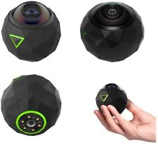 360fly 360° HD 4k VR Capable Action Video Camera water resistant
