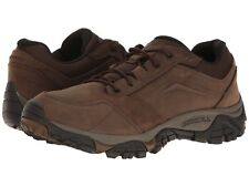 NEW Mens MERRELL Earth Brown Leather MOAB ADVENTURE Lace Walking Hiking Shoes