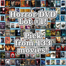 Horror DVD Lot #1: 133 Movies to Pick From! Buy Multiple And Save!