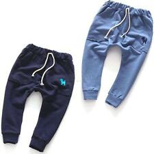 Toddler Kids Winter Warm Harem Pants Long Trousers Slacks Bottoms Unisex 2-7Y