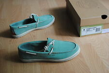 Timberland Ek Casco Bay Boat Size 36 38,5 Boat Shoes 3951r Suede