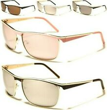NEW SUNGLASSES LADIES WOMENS DESIGNER WRAP METAL MIRRORED AVIATOR RETRO VINTAGE