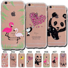 TPU Rubber Silicone Protective Glitter Soft Skin Cover Case For Apple iPhone 6S