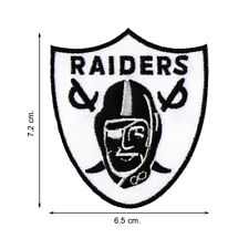 NFL Football Oakland Raiders Team Logo V02 Embroidered Iron on Patch Sew