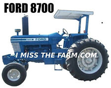 FORD 8700 (2 POST) Tractor tee shirt