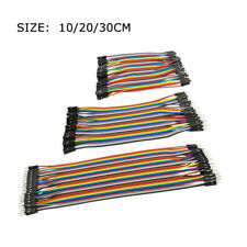 5x40Pcs Dupont Wire Jumper Cables 10/20/30cm 2.54MM Male Female For Arduino SFW