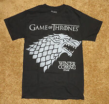 Game of Thrones Men'sT-Shirt New S M HBO TV Series Movie KIng Sword Winter