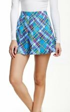 NWT American Apparel Plaid Pleated Tennis School Girl Mini Skirt Courtney Sz S M