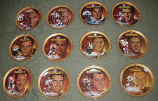 1994 LEGENDS OF HOCKEY'S GOLDEN ERA PLATE SERIES (Full Set -12) see description