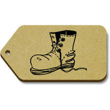 'Boot' Gift / Luggage Tags (Pack of 10) (vTG0003768)