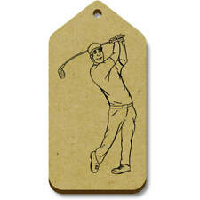 'Golf Swing' Gift / Luggage Tags (Pack of 10) (vTG0002861)