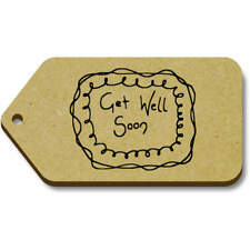'Get Well Soon' Gift / Luggage Tags (Pack of 10) (vTG0003605)