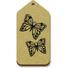 'Pair Of Butterflies' Gift / Luggage Tags (Pack of 10) (vTG0014383)