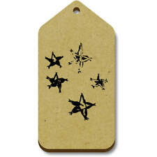 'Star Pattern' Gift / Luggage Tags (Pack of 10) (vTG0014427)