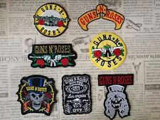 Guns N Roses Rock Iron On Embroidered Patch Applique DIY Denim Jacket Vest Cap
