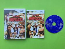 TNA Impact Nintendo Wii PAL Wrestling Game + Compatible With Wii U