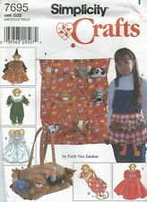 Simplicity 7695 Organizers, Apron, Sleeping Bag and Clothes    Sewing Pattern