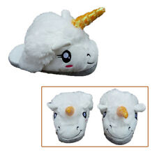 Adult Indoor Heel Slippers Warm Plush Unicorn slippers Home cotton slippers