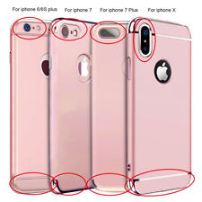For iPhone X 6S 7 8 iPhone 8 Plus Ultra Thin Hybrid Slim Hard Case Cover