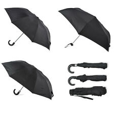 Gentlemans Budget Folding Umbrellas Compact and Strong