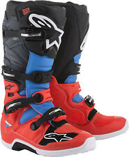 ALPINESTARS  TECH 7 BOOTS YELLOW/WHITE/BLUE [ALL SIZES]