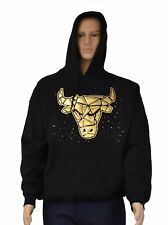 Mens  Pullover  with foil embossing Bully Head hoodie Urban Wear