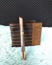 KAVI'S NEW 100% GENUINE LEATHER MENS WALLETS !Christmas Gift Item!