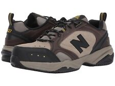 NEW Mens NEW BALANCE Brown MID627 Steel Toe Work Shoes