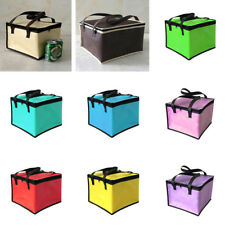 1 Pcs Foldable Cooler Bag Lunch Picnic Bag Insulated Beach Bag